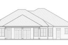 Ranch Exterior - Rear Elevation Plan #938-74