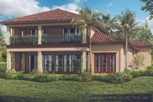 Mediterranean Exterior - Rear Elevation Plan #930-449