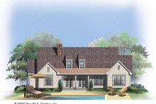 Craftsman Exterior - Rear Elevation Plan #929-746