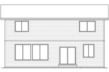 Contemporary Exterior - Rear Elevation Plan #569-15