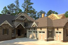 House Plan Design - Country Exterior - Front Elevation Plan #437-80