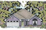 Traditional Style House Plan - 4 Beds 2 Baths 1701 Sq/Ft Plan #42-351 Exterior - Front Elevation