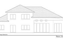 Contemporary Exterior - Rear Elevation Plan #930-504