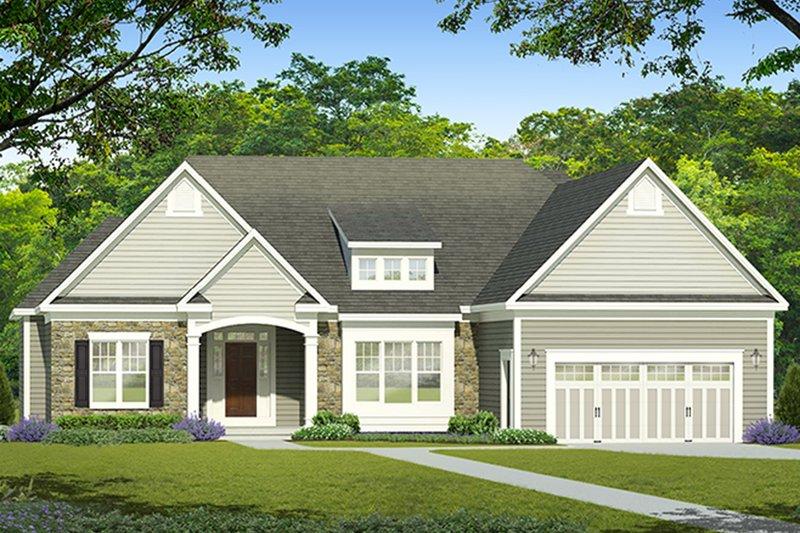 House Plan Design - Ranch Exterior - Front Elevation Plan #1010-187