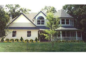 Home Plan - Country Exterior - Front Elevation Plan #314-268