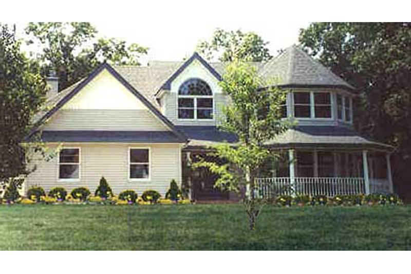 Architectural House Design - Country Exterior - Front Elevation Plan #314-268