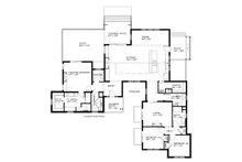 Ranch Floor Plan - Main Floor Plan Plan #895-76