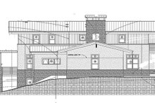 House Design - Left Side Elevation