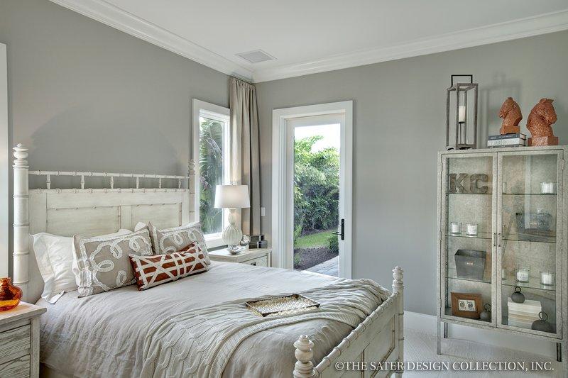 Mediterranean Interior - Bedroom Plan #930-444 - Houseplans.com