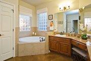 European Style House Plan - 3 Beds 3.5 Baths 3289 Sq/Ft Plan #80-192