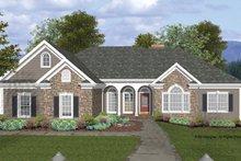 Craftsman Exterior - Front Elevation Plan #56-685