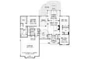 European Style House Plan - 3 Beds 2 Baths 1818 Sq/Ft Plan #929-967