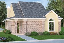 Dream House Plan - Ranch Exterior - Front Elevation Plan #45-536