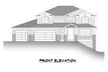 Dream House Plan - Modern Exterior - Front Elevation Plan #1066-129