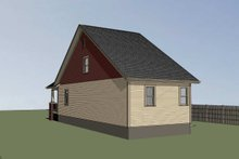 Home Plan - Bungalow Exterior - Other Elevation Plan #79-318