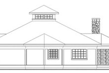 House Plan Design - Traditional Exterior - Other Elevation Plan #124-146