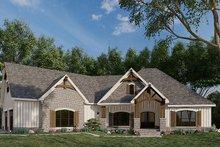 Dream House Plan - European Exterior - Front Elevation Plan #923-180