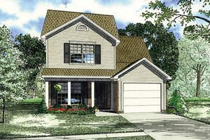Traditional Exterior - Front Elevation Plan #17-2436