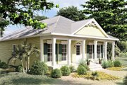 Southern Style House Plan - 3 Beds 2 Baths 1587 Sq/Ft Plan #44-151