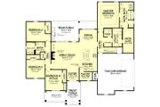 Modern Style House Plan - 4 Beds 2.5 Baths 2373 Sq/Ft Plan #430-184 Floor Plan - Main Floor Plan