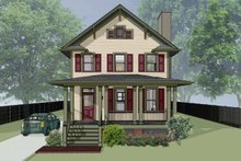 Traditional Exterior - Front Elevation Plan #79-268