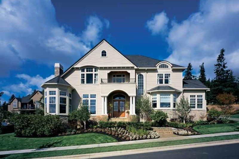 Craftsman Exterior - Front Elevation Plan #48-807