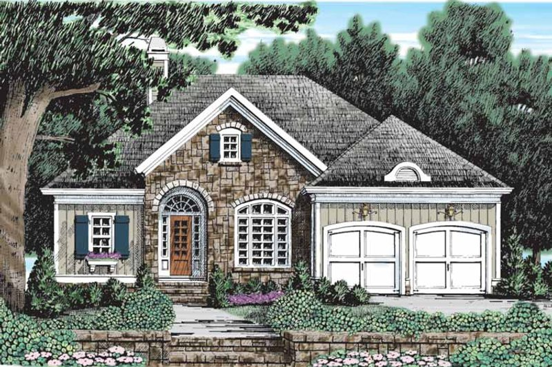 Country Exterior - Front Elevation Plan #927-904 - Houseplans.com