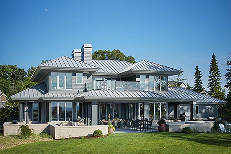 Contemporary Exterior - Rear Elevation Plan #928-291 - Houseplans.com