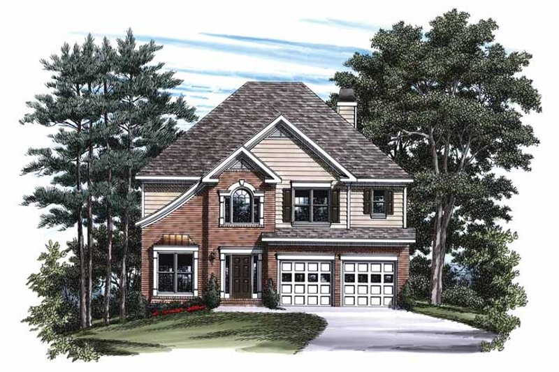 Traditional Exterior - Front Elevation Plan #927-193 - Houseplans.com