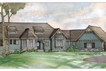 House Design - Traditional Exterior - Front Elevation Plan #928-189