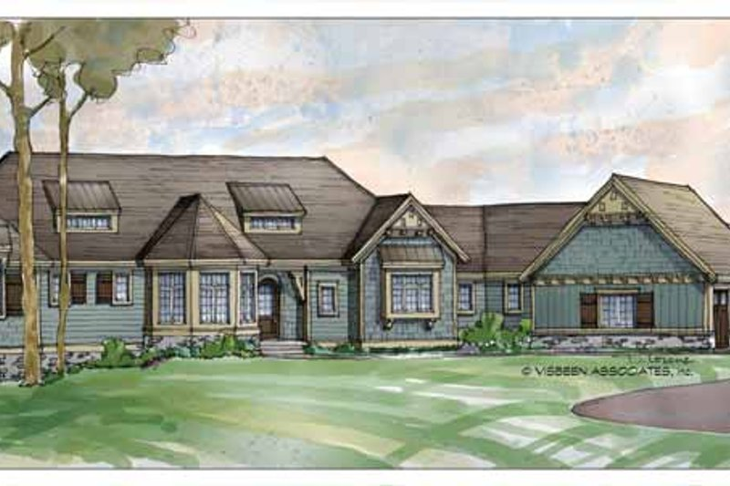 Traditional Exterior - Front Elevation Plan #928-189