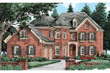 Home Plan - European Exterior - Front Elevation Plan #927-427