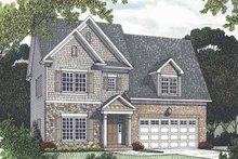 House Plan Design - Traditional Exterior - Front Elevation Plan #453-527