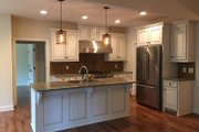 Ranch Style House Plan - 3 Beds 2 Baths 1683 Sq/Ft Plan #437-79 Interior - Kitchen