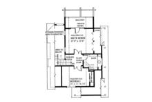 Cabin Floor Plan - Upper Floor Plan Plan #118-167
