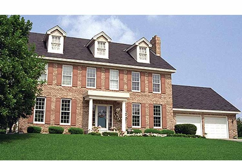 Classical Exterior - Front Elevation Plan #51-873 - Houseplans.com