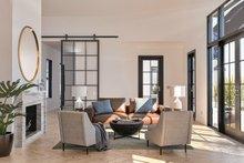 Dream House Plan - Farmhouse Interior - Family Room Plan #1076-4