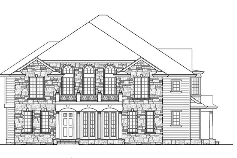 Classical Exterior - Front Elevation Plan #132-512 - Houseplans.com