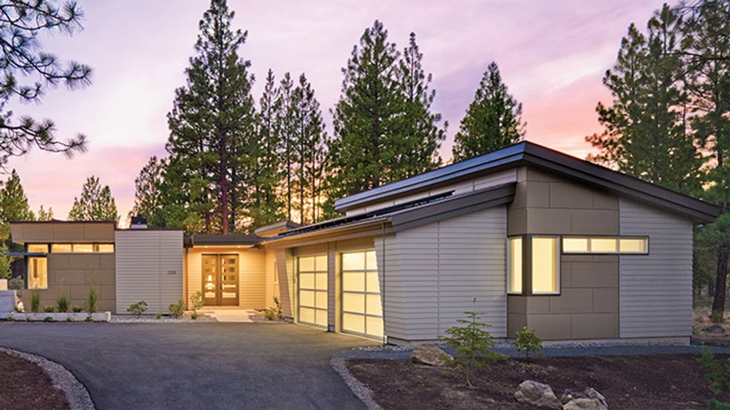 Floor Front Elevation Ymca : Contemporary style house plan beds baths sq ft