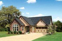Dream House Plan - Tudor Exterior - Front Elevation Plan #929-613