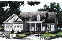 Home Plan - Bungalow Exterior - Front Elevation Plan #927-624