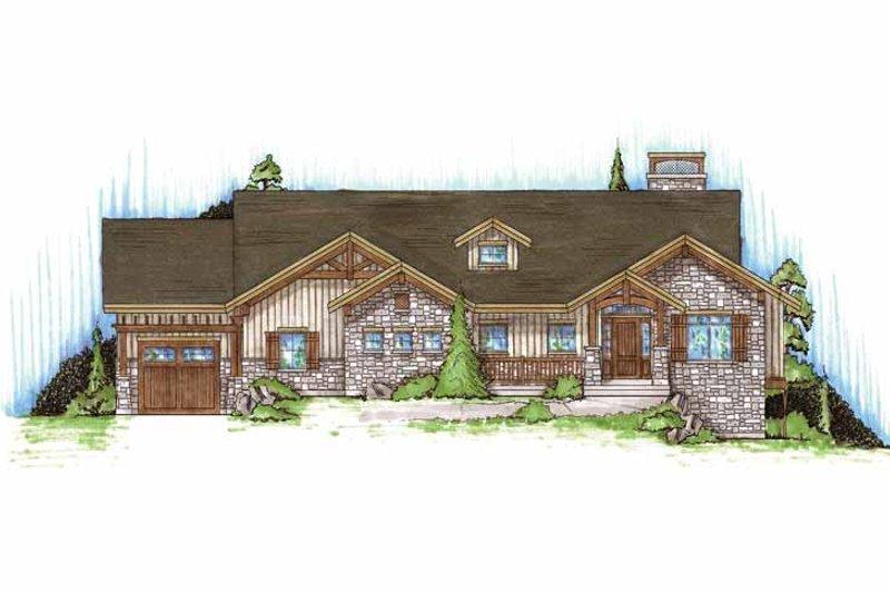 House Design - Craftsman Exterior - Front Elevation Plan #945-88