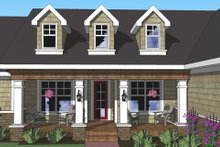 Dream House Plan - Craftsman Exterior - Other Elevation Plan #51-515