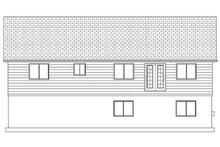 Home Plan - Ranch Exterior - Rear Elevation Plan #1060-14