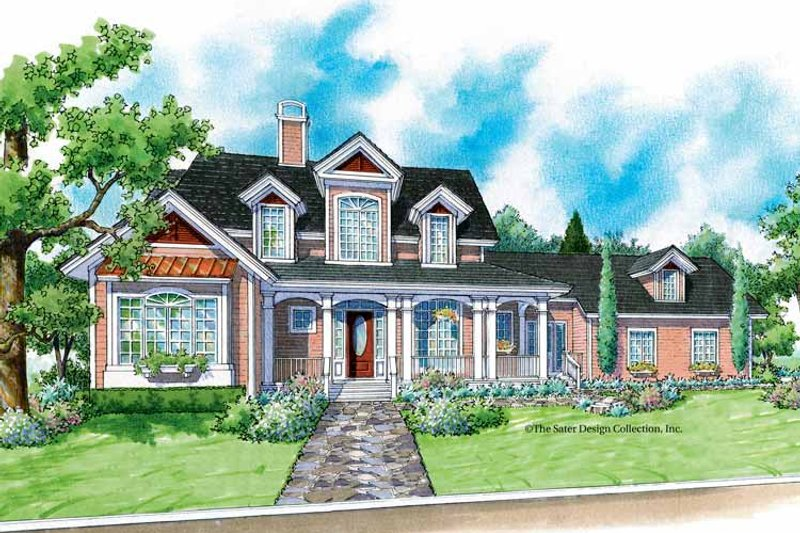 Victorian Exterior - Front Elevation Plan #930-195 - Houseplans.com