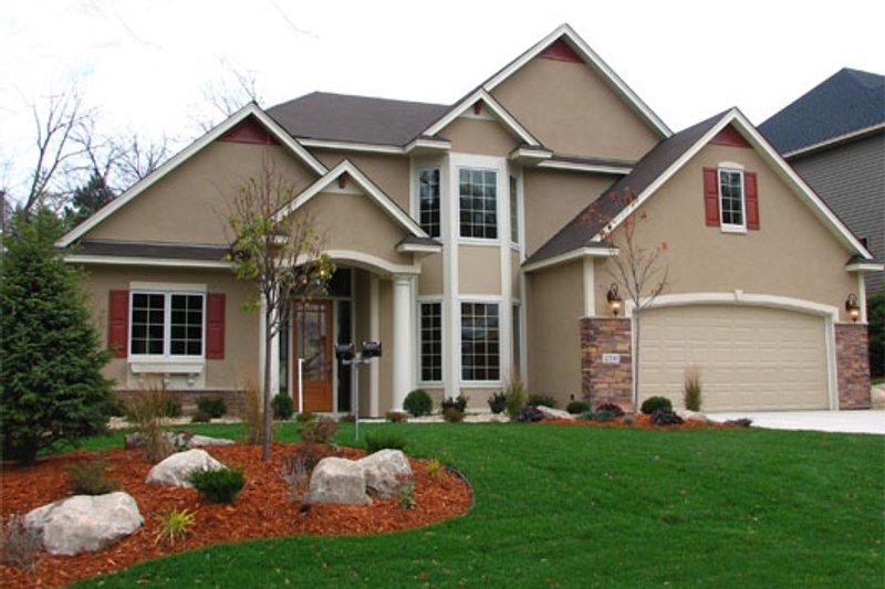 Dream House Plan - Mediterranean Exterior - Front Elevation Plan #320-482