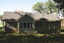 House Plan Design - Craftsman Exterior - Rear Elevation Plan #928-145