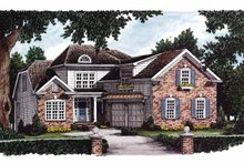 House Design - Colonial Exterior - Front Elevation Plan #927-621