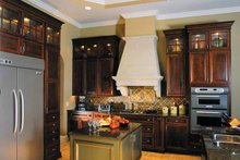 Architectural House Design - Mediterranean Interior - Kitchen Plan #930-315