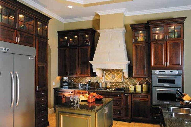 Mediterranean Interior - Kitchen Plan #930-315 - Houseplans.com
